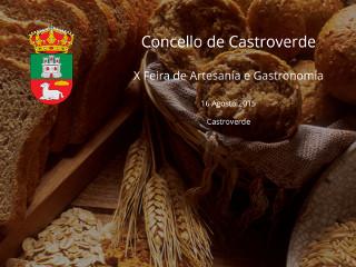 Feira de Artesanía de Castroverde